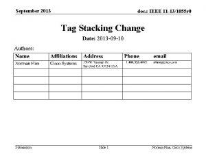 September 2013 doc IEEE 11 131055 r 0