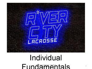 Individual RCL Players Manual Individual Fundamentals 1 Copyright