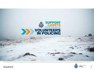 leics police uk 1 Volunteer Police Cadet Programme