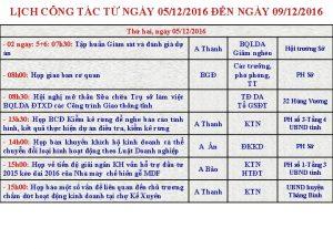 LCH CNG TC T NGY 05122016 N NGY