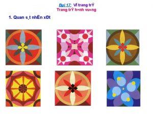 Bi 17 V trang tr Trang tr hnh