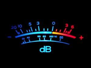 AUD 202 Audio and Acoustics Theory The Decibel