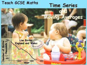 Teach GCSE Maths Number of Births thousands 700