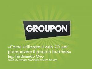 Come utilizzare il web 2 0 per promuovere