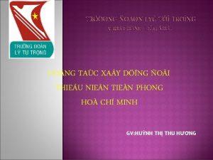 CO NG TAC XA Y DNG OI THIEU