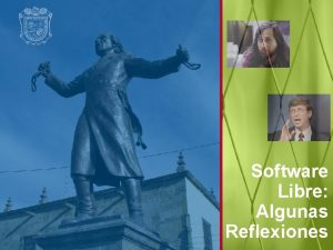 Software Libre Algunas Reflexiones Qu es Software La