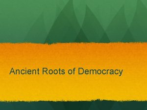 Ancient Roots of Democracy I Athens Direct Democracy