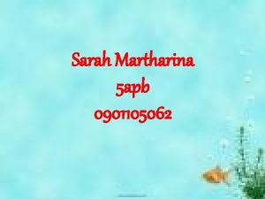 Sarah Martharina 5 apb 0901105062 BAB 7 AKUNTANSI