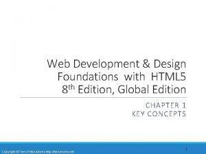 Web Development Design Foundations with HTML 5 8