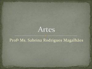 Artes Prof Ms Sabrina Rodrigues Magalhes Arte Romana