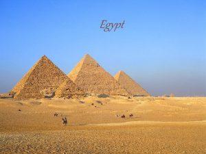 Egypt Egypt PRODN PODMNKY Sahara nebyla pout a