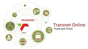Transnet Online Track and Trace Transnet Online Track