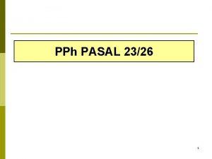 PPh PASAL 2326 1 PEMOTONG PPh PASAL 2326