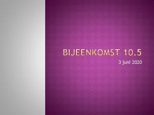 3 juni 2020 Profieldeel aandacht voor ontwikkelingsgericht werken