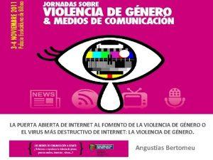 LA PUERTA ABIERTA DE INTERNET AL FOMENTO DE