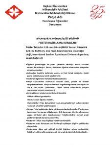 Bakent niversitesi Mhendislik Fakltesi Biyomedikal Mhendislii Blm Proje