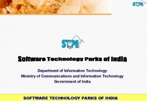 Department of Information Technology Ministry of Communications and