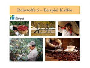Rohstoffe 6 Beispiel Kaffee Beispiel Kaffeepreis Informiere dich
