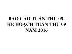 BO CO TUN TH 08 K HOCH TUN