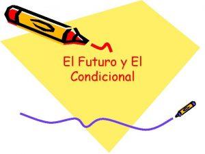 El Futuro y El Condicional I Verbos regulares