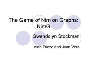 The Game of Nim on Graphs Nim G