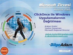 Click Once ile Windows Uygulamalarnn Datlmas Atakan Kesler