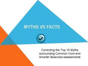 MYTHS VS FACTS Correcting the Top 10 Myths