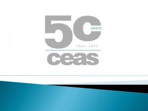 2016 CEAS Forum Arthur Park Chairman CEAS Members