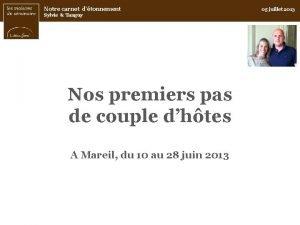 Notre carnet dtonnement Sylvie Tanguy Nos premiers pas