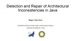 Detection and Repair of Architectural Inconsistencies in Java