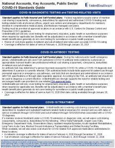 National Accounts Key Accounts Public Sector COVID19 Standards