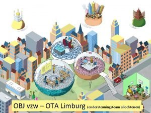 OBJ vzw OTA Limburg ondersteuningsteam allochtonen Wie zijn