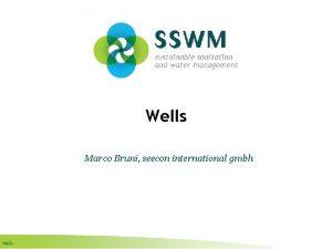 Wells Marco Bruni seecon international gmbh Wells Find