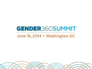 Gender Mainstreaming and Gender Integration Linkages Intersections Bonds