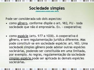 Sociedade simples ModelosContrato sociedade simples ltda rtf Pode