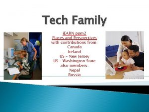 Tech Family i EARN ppm 2 Places and