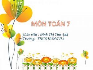 MN TON 7 Gio vin inh Th Thu