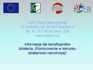 LGD Pery Czarnej Nidy ul Kielecka 38 26