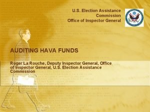 U S Election Assistance Commission Office of Inspector