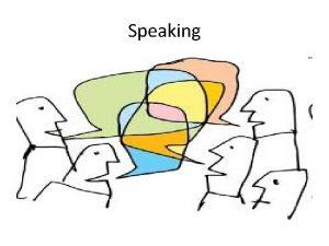 Speaking Forms of Speaking Activity SAY TALK SPEAK
