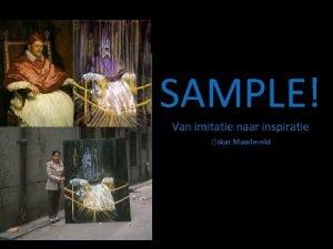 SAMPLE Van imitatie naar inspiratie Oskar Maarleveld Bad