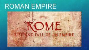 ROMAN EMPIRE JULIUS CAESAR 1 Celebrated Roman general