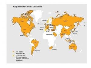 G 20 regelmige Teilnehmer Internationaler Whrungsfonds IWF Weltbank