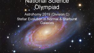 National Science Olympiad Astronomy 2019 Division C Stellar