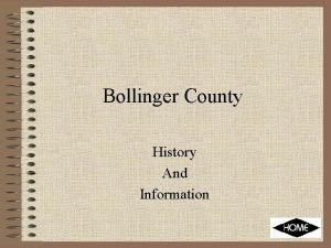 Bollinger County History And Information County Seat Every