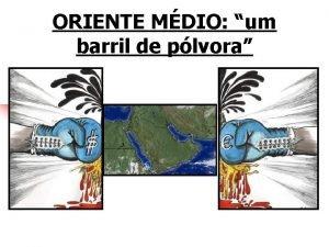 ORIENTE MDIO um barril de plvora Localizao n