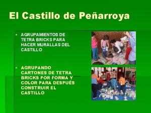 El Castillo de Pearroya AGRUPAMIENTOS DE TETRA BRICKS