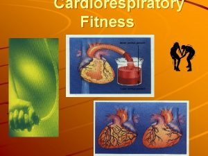 Cardiorespiratory Fitness What is Cardiorespiratory Fitness The ability