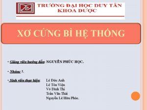 X CNG B H THNG Ging vin hng
