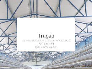 Trao DIMENSIONAMENTO SEGUNDO A NBR8800 2008 Prof Talles